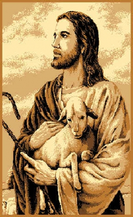 JEZUS Z BARANKIEM